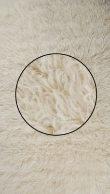 Flokati Rug 2000 weight